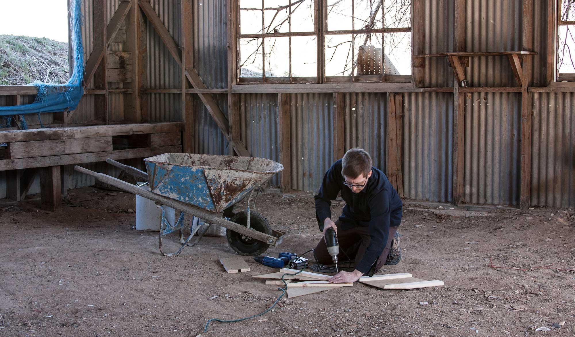 Granary Arts Beyond Structure Curator Jason Lanegan