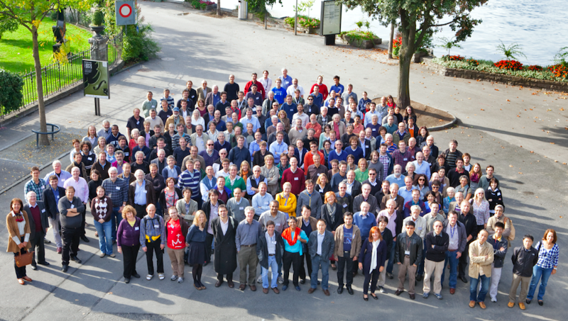 Nitesh's colleagues in research. Image: Scientists of the ATLAS Collaboration