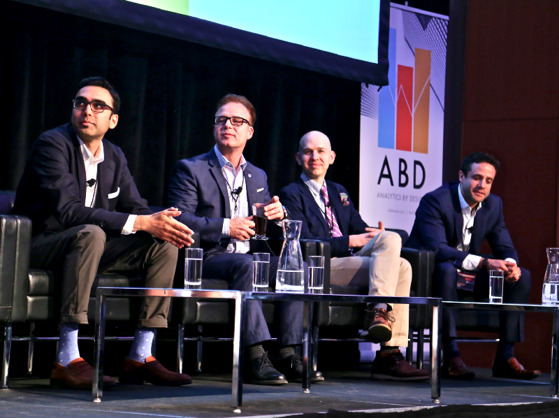 Panelist at the  Analytics by Design (ABD) Inaugural Conference  in 2018. Image: ABD Conference in Toronto