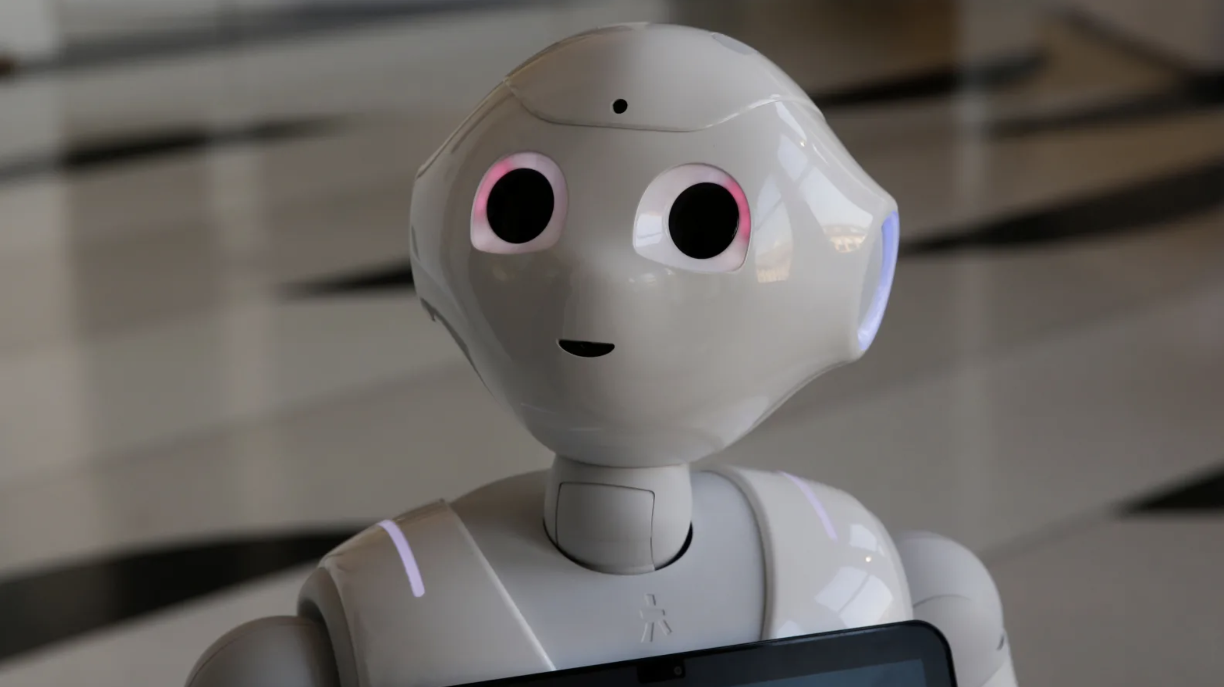 """Under a proposed EU law, humanoid robot Paolo Pepper, created by Italy's Luca Vescovi, could eventually be considered an """"electronic person.""""   Source:gizmodo"""