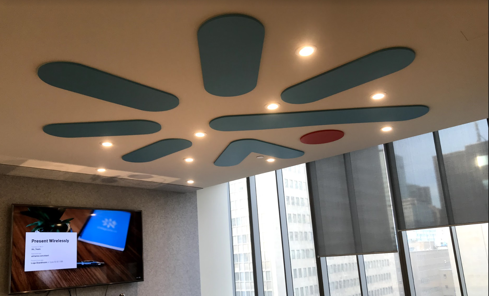 (Boardroom at Integrate.ai) A common place for client meetings
