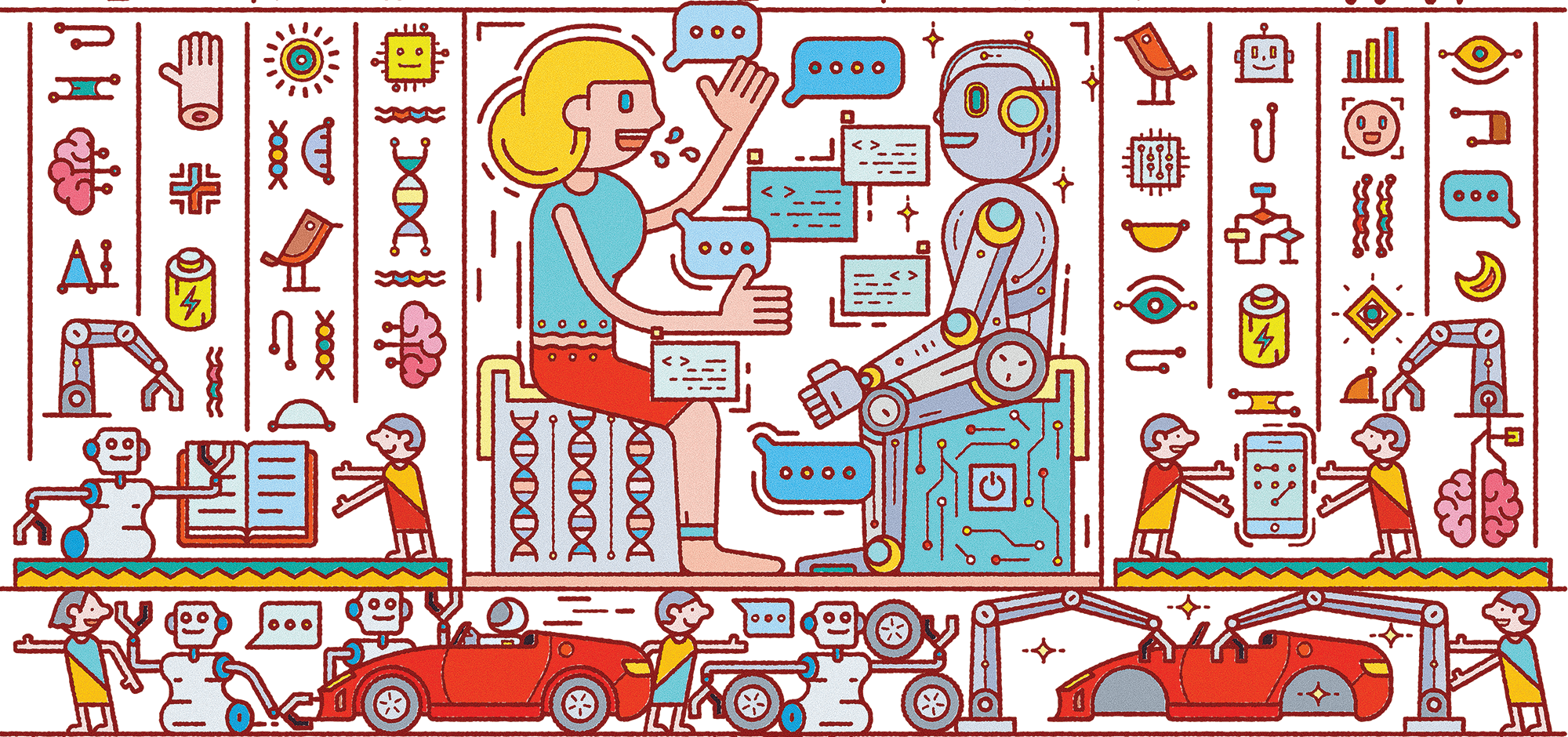 Harvard Business Review -  https://hbr.org/2018/07/collaborative-intelligence-humans-and-ai-are-joining-forces