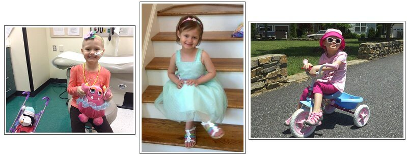 """Sienna """"CC"""" Houck, whom the CC Project is named after, lost her courageous battle against leukemia in 2015"""