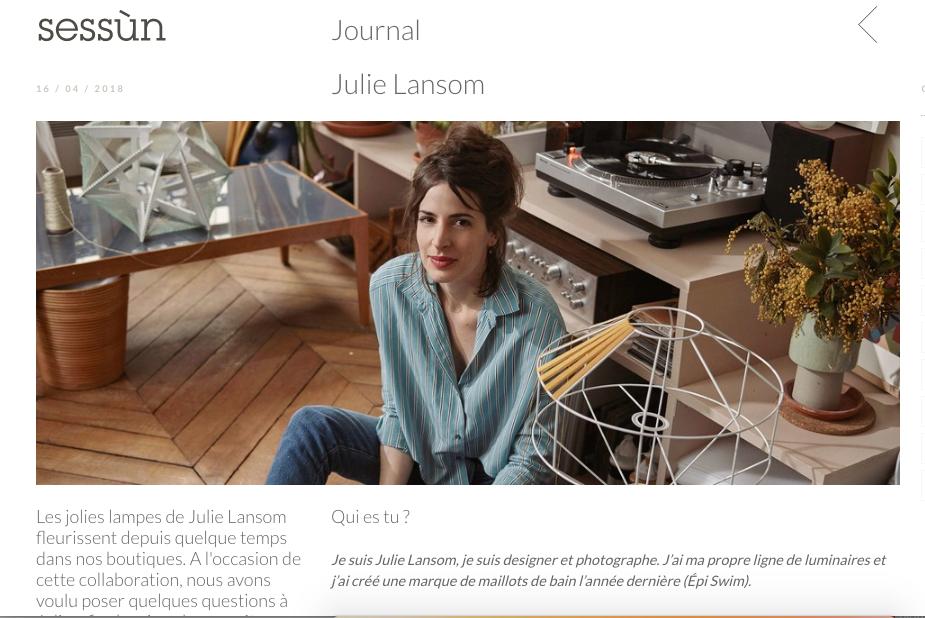 Julie Lansom sessun