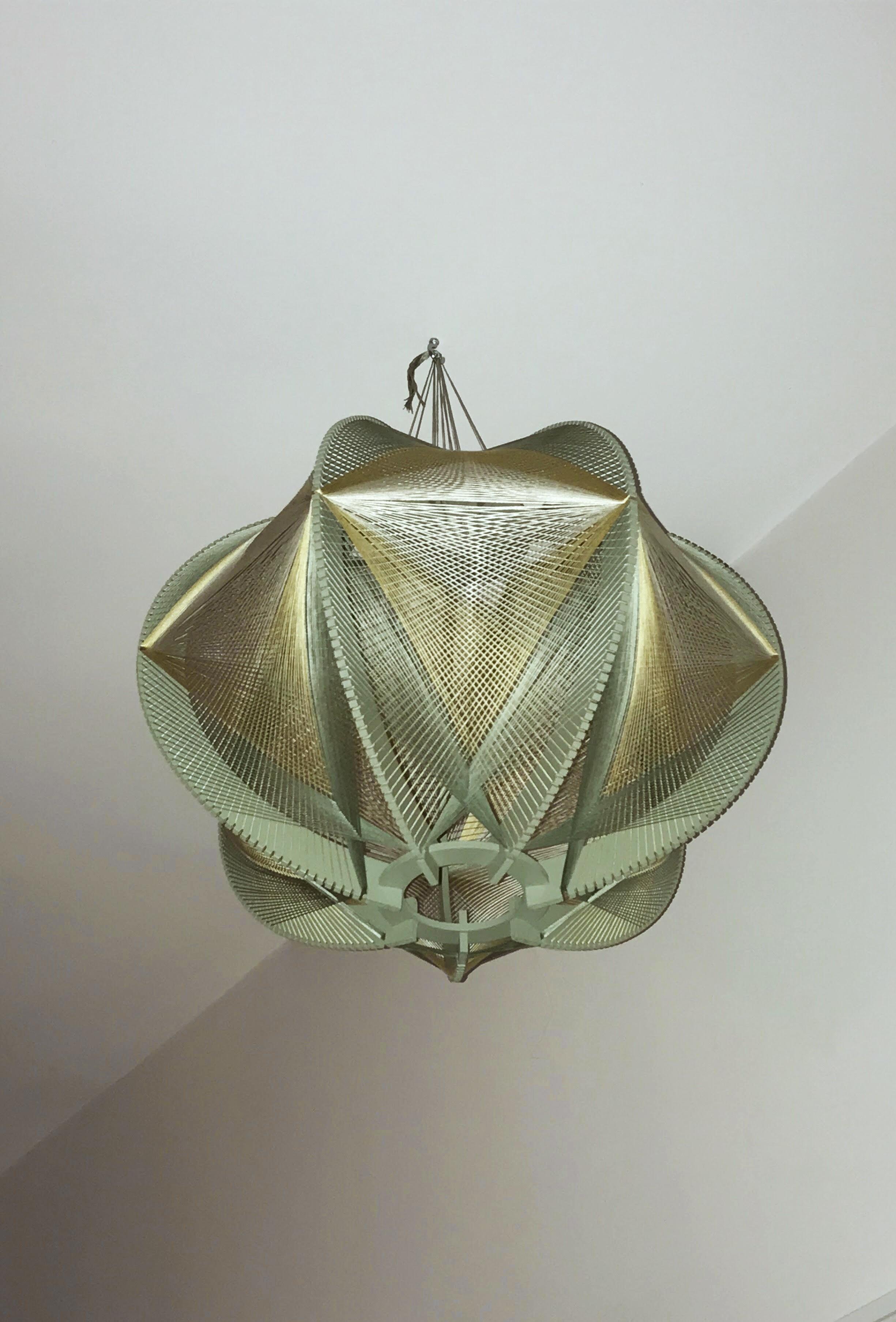 Sputnik ronde #1 - h:40cm / d:55cm - © photo Julie Lansom