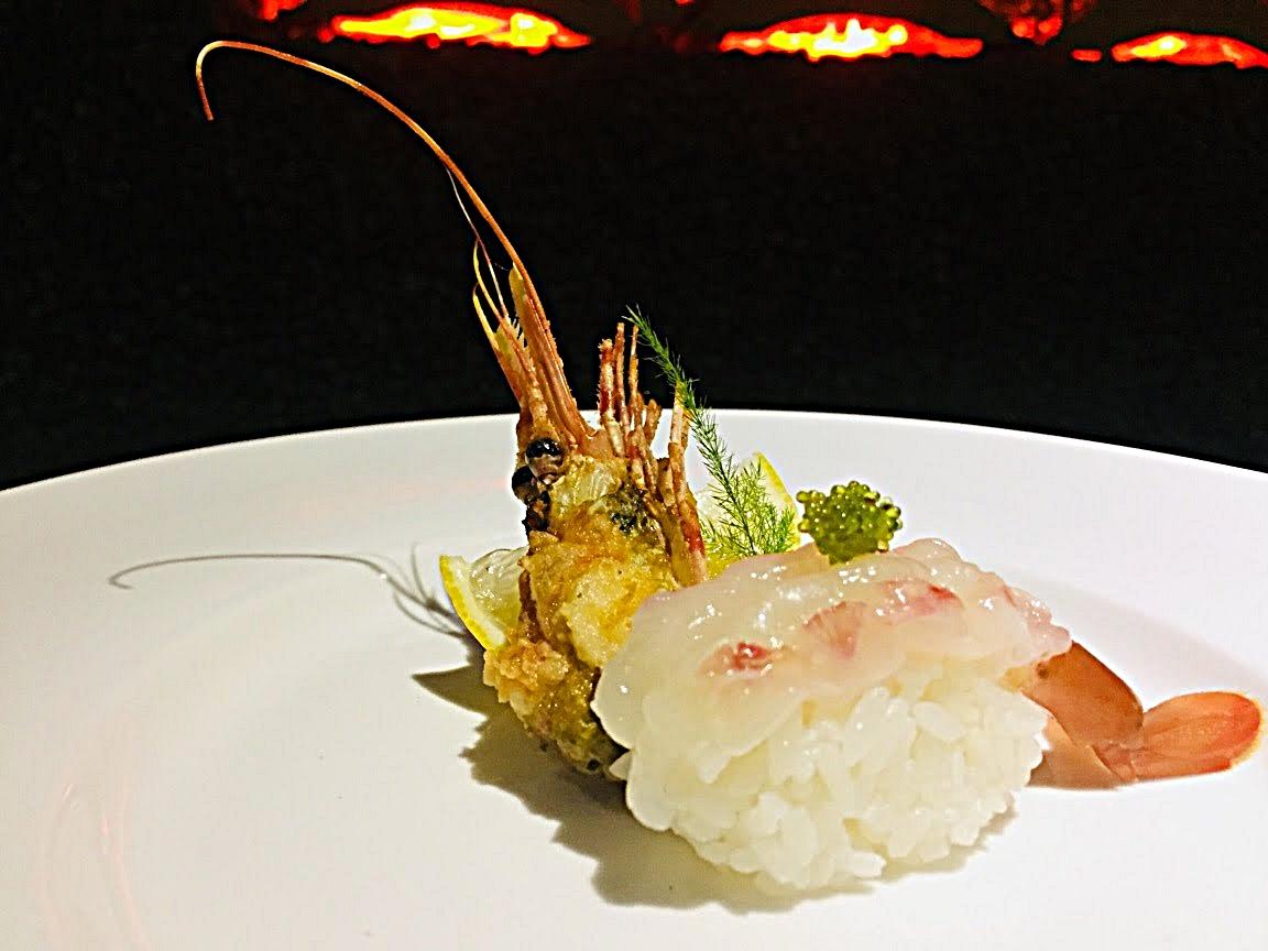 Sweet Shrimp Sushi (amaebi)