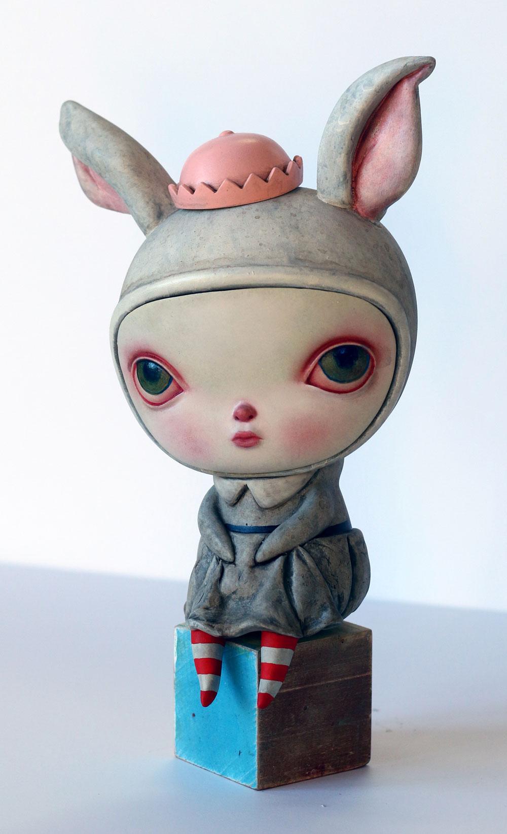 """Seated Rabbit Penelope"""