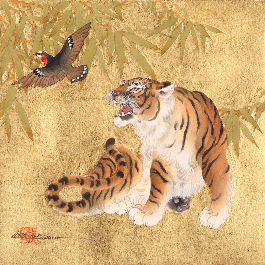 """Tiger And Bird"""