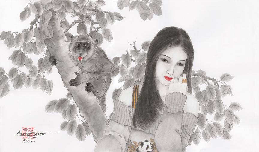 """""""Monkey Photobomb"""""""