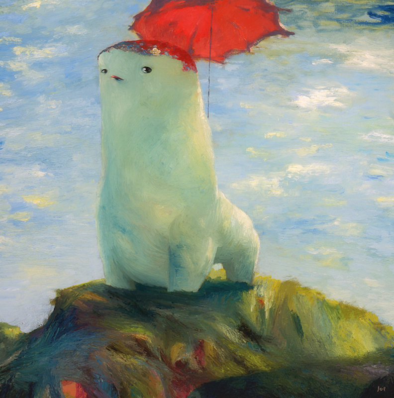 """""""Mother Bull with Parasol"""""""