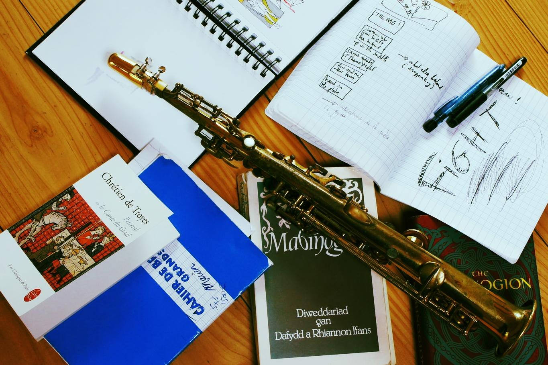 Peredur - rehearsals