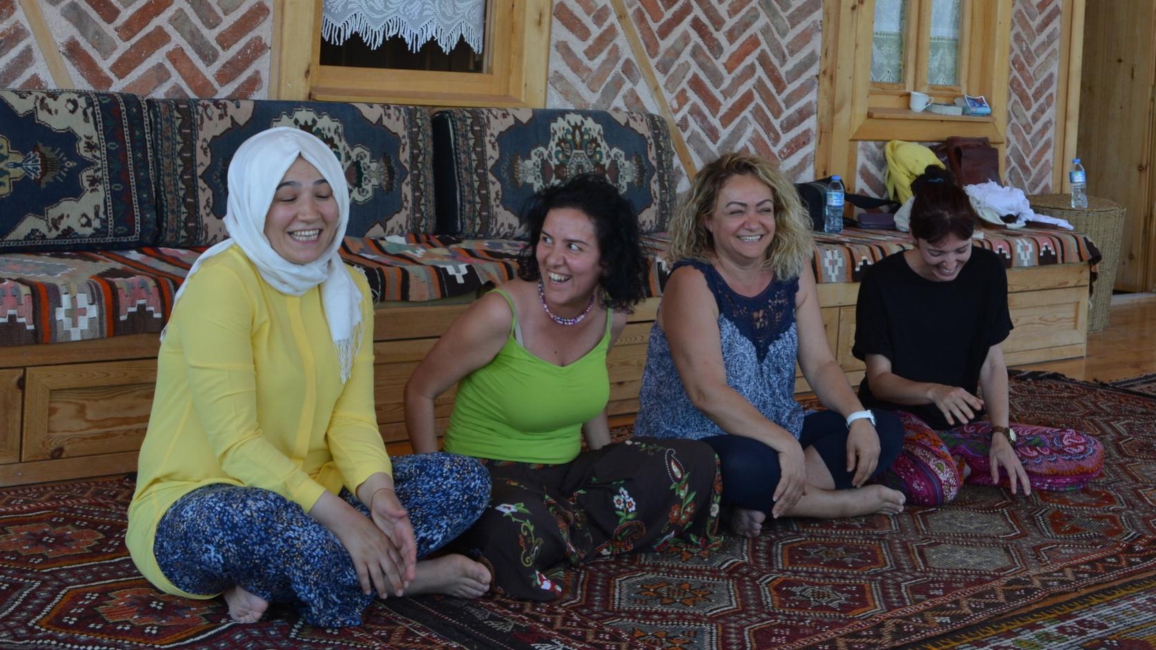 Storytelling Workshsop with SEIBA, Turkey
