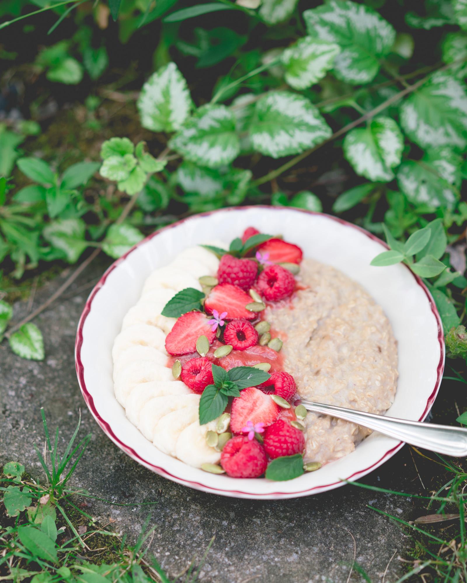 Porridge classique - sans sucre ajouté, donne 2 portions