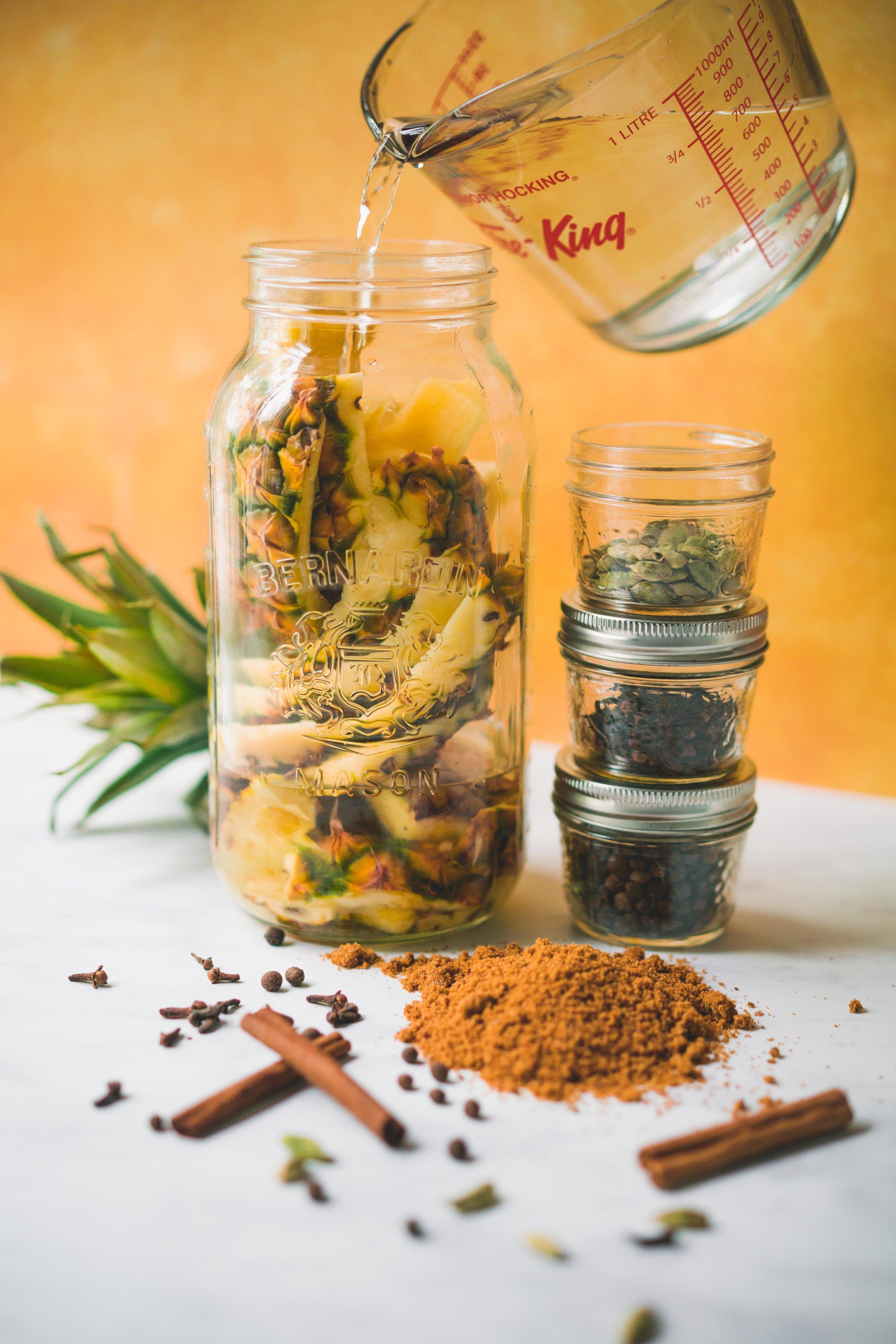 Tepache - Pour un pot masson de deux litres