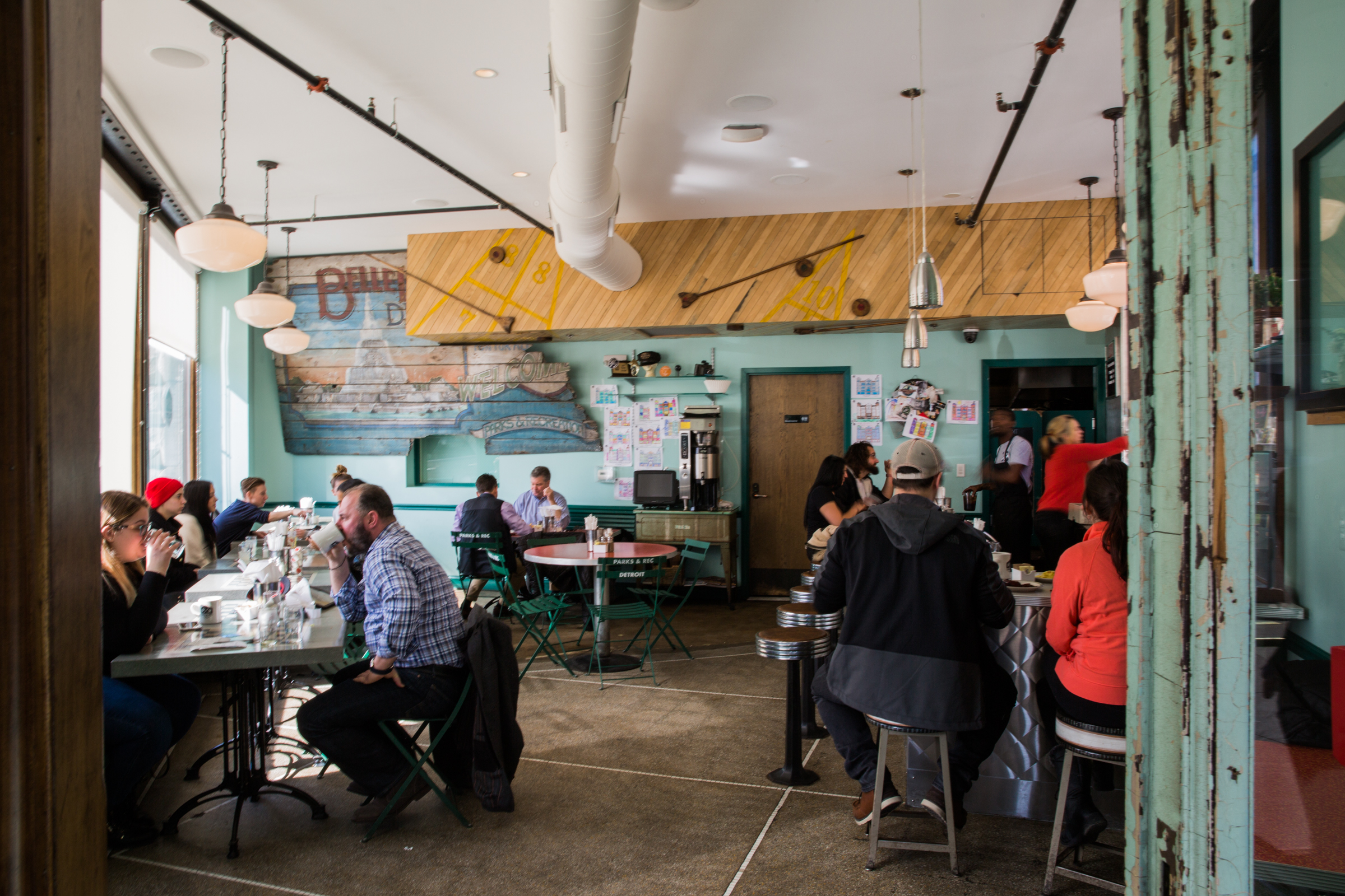 Parks & REc Diner -