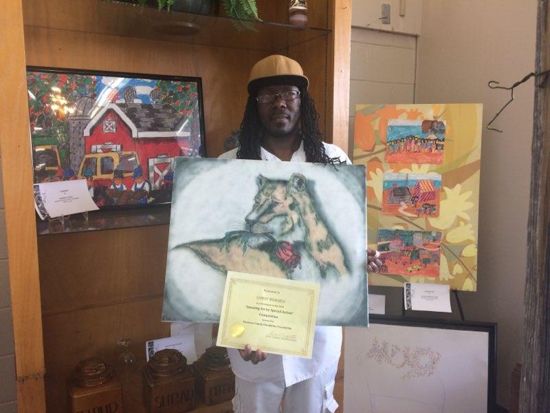 2nd Place Amazing Art - Corey Burgess