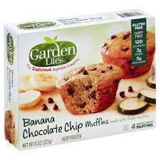 Garden Lites BanaNa Chocolate chip muffins make mornings easier and more delish!
