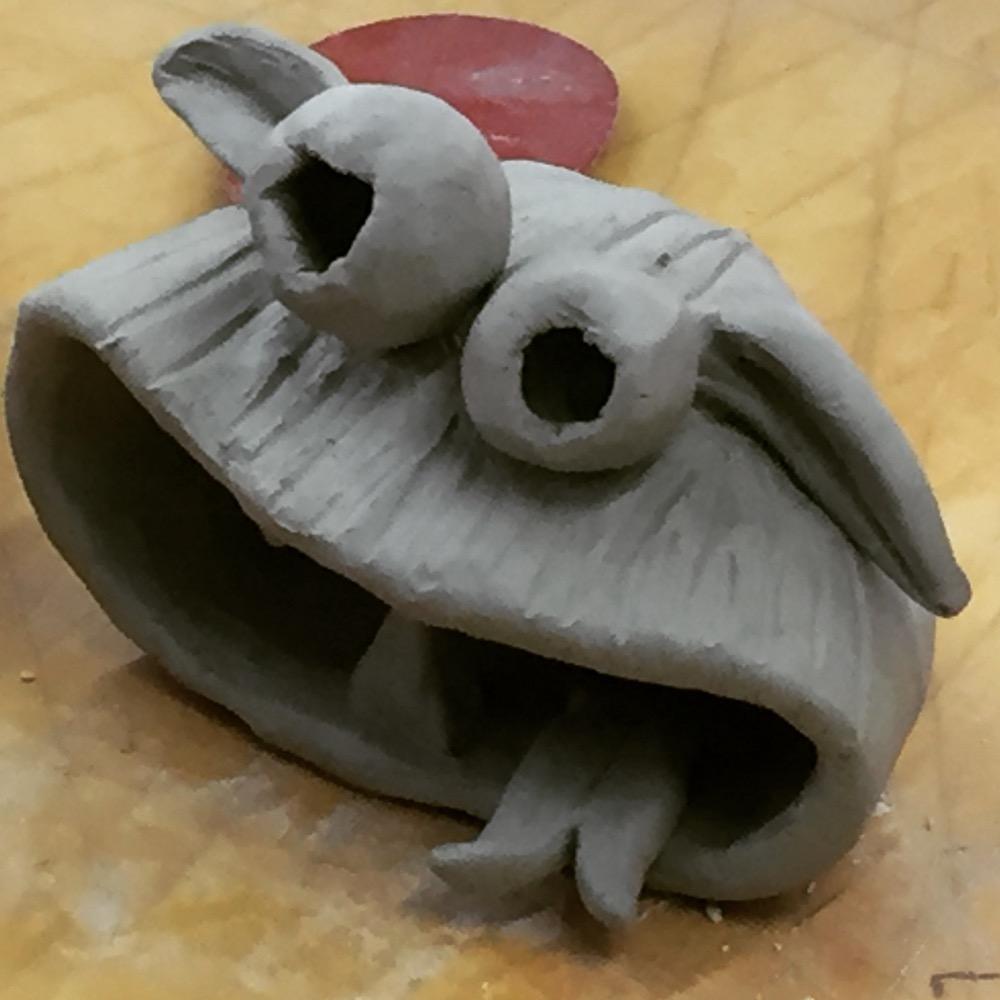 pinch pot monster.JPG
