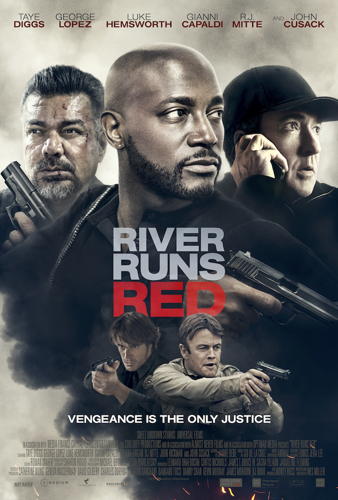 RIVER RUNS RED - The son of an African- American judge is killed by police officers on the day he was set to begin the law enforcement academy. When the courts clear the officers of wrongdoing, the judge must determine whether the courts are the only arbitrators of justice.