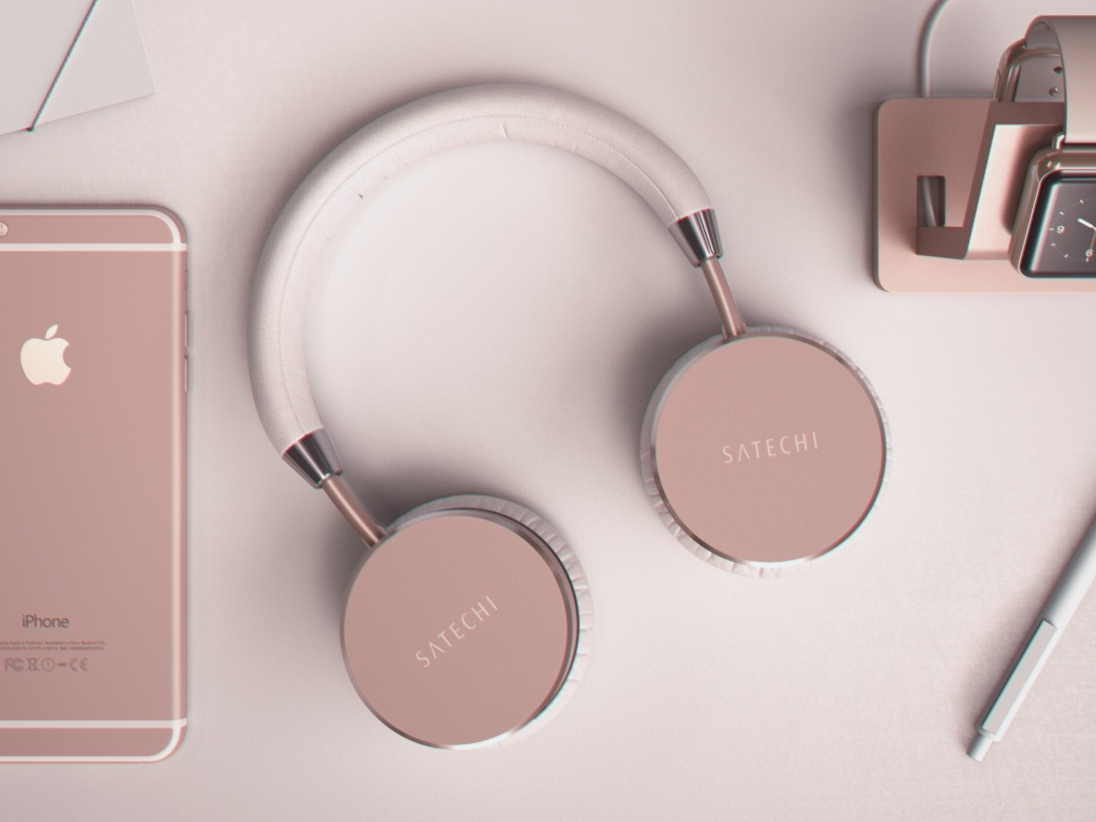 Satechi Aluminium Headphones