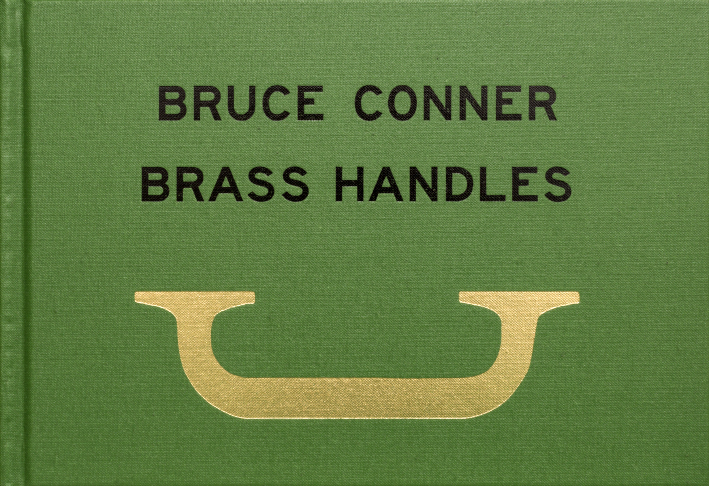 BRUCE CONNER BRASS HANDLES   A project by Will Brown (Lindsey White, Jordan Stein, David Kasprzak). Text by Jean Conner, Photographs by Jason Fulford  Artist and filmmaker Bruce Conner's (1933–2008) mobility was severely limited for the last five years of his life, when he rarely left the San Francisco home he shared with his wife, Jean. To aid in his physical navigation of its spaces, he worked with assistants to install a succession of solid brass handles in each and every room--surrounding the stove, down the boat-like stairwell, inside the recesses of the bedroom closet. At last count, the handles, a labyrinth of critical support, numbered 163.