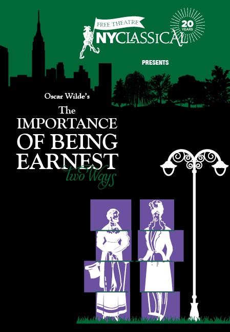 THE IMPORTANCE OF BEING EARNEST Two Ways   Traditional  |  Non- Binary