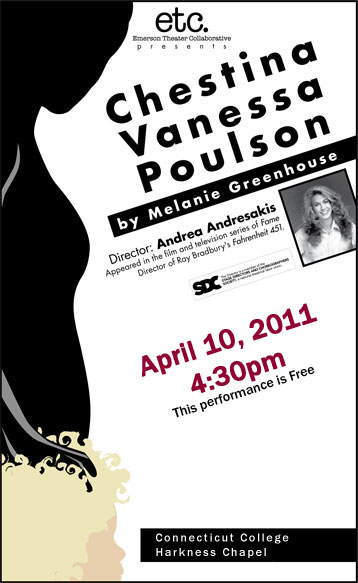 CHESTINA VANESSA POULSON   Emerson Theatre Collaborative, CT
