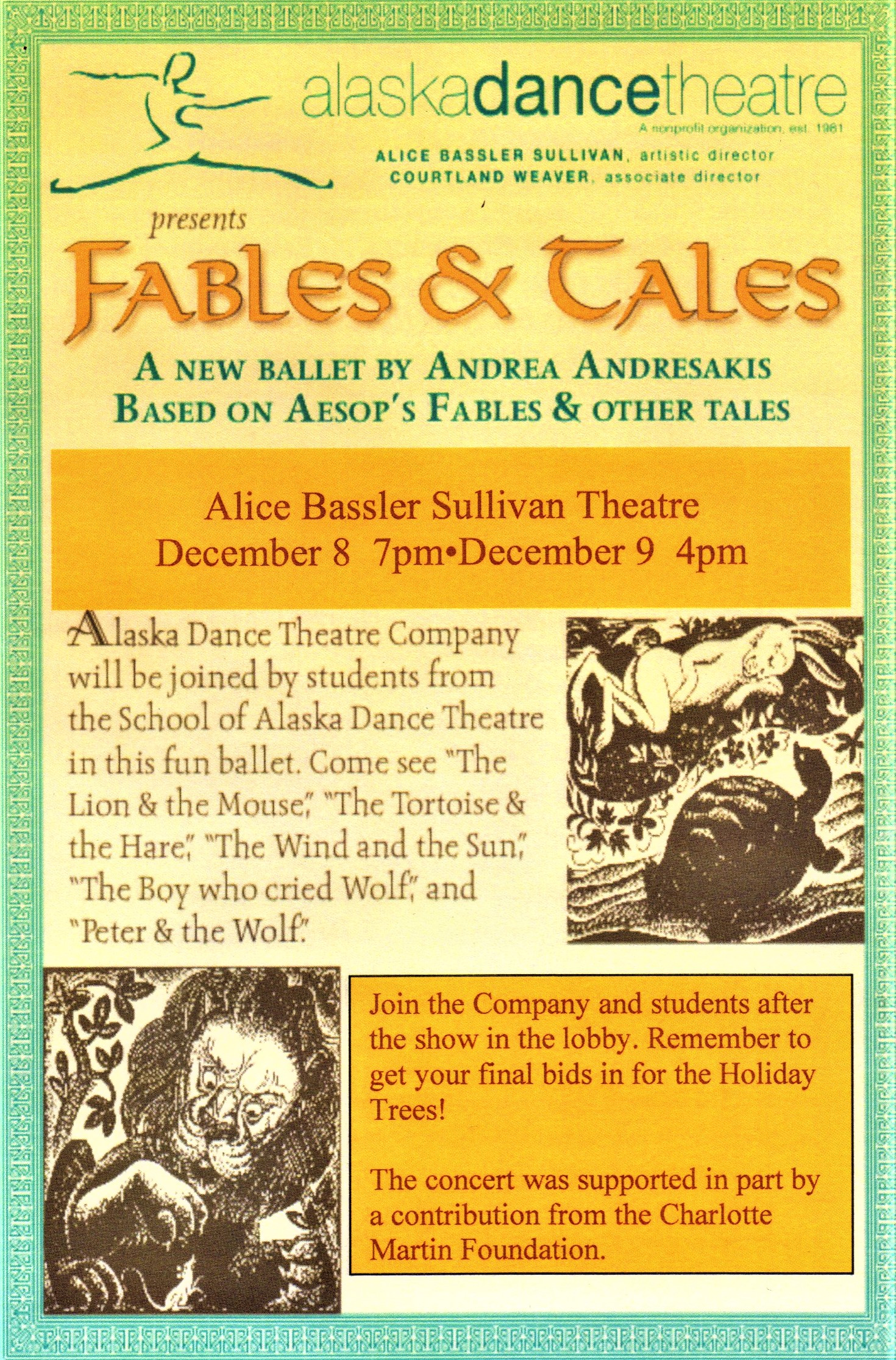 FABLES  and TALES  Alaska Dance Theatre