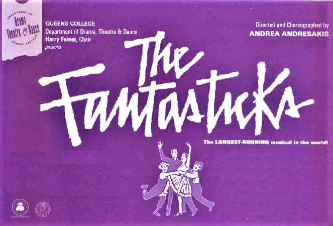THE FANTASTICKS   Queens College, NYC