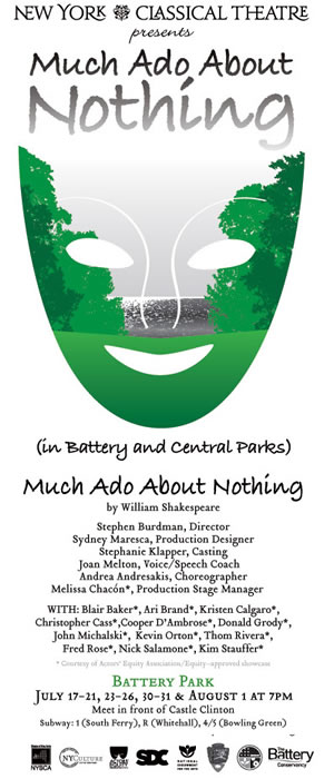 MUCH ADO ABOUT NOTHING    NY Classical Theatre