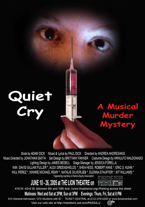 QUIET CRY    Theatre Row