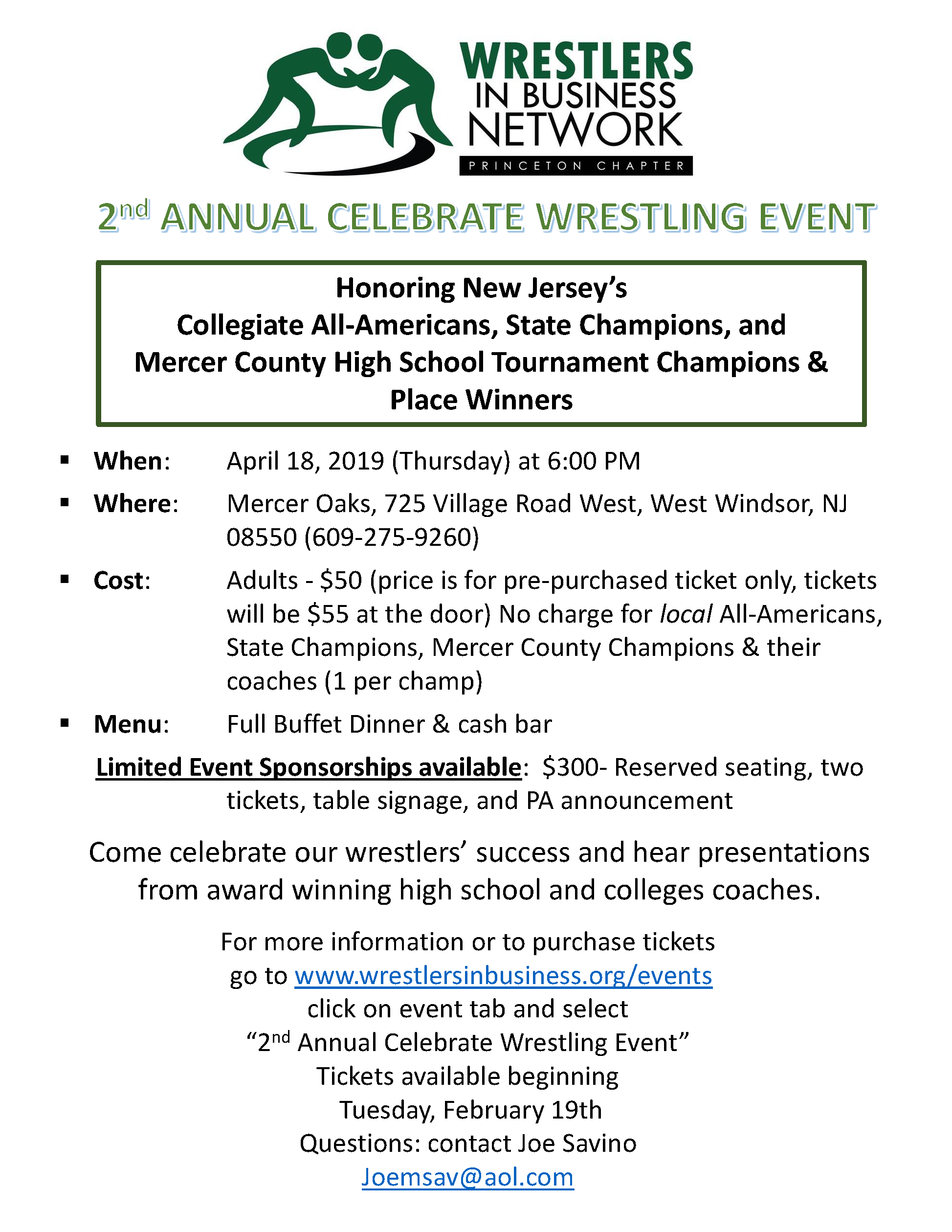 2019 2nd Annual Celebrate Wrestling Event.png
