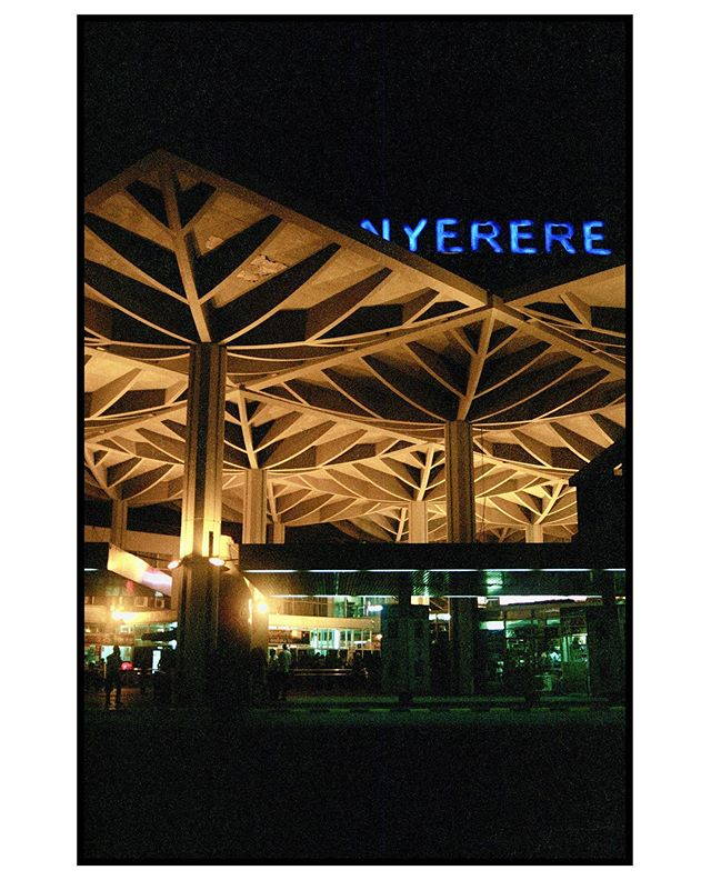 Julius Nyerere International Airport, Dar es Salaam, Tanzania. 2017. (Portra 400)