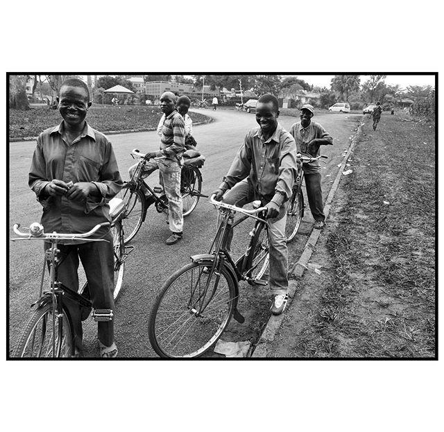 Bike taxis, Jinja, Uganda. 2012.