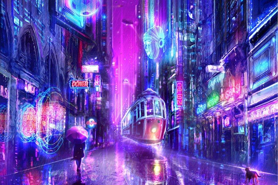*Görsel dijital art sanatçısı Cihan Engin'e aittir.