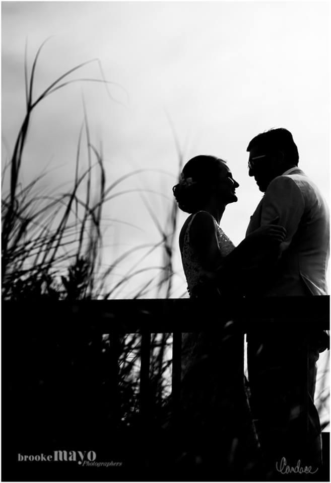 bride groom silhouette