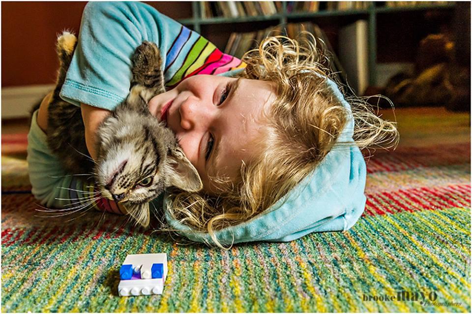 kid and kitten