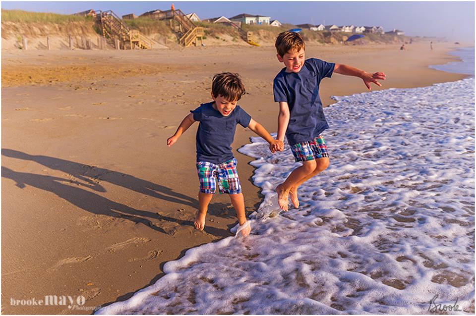 sunrise beach portraits