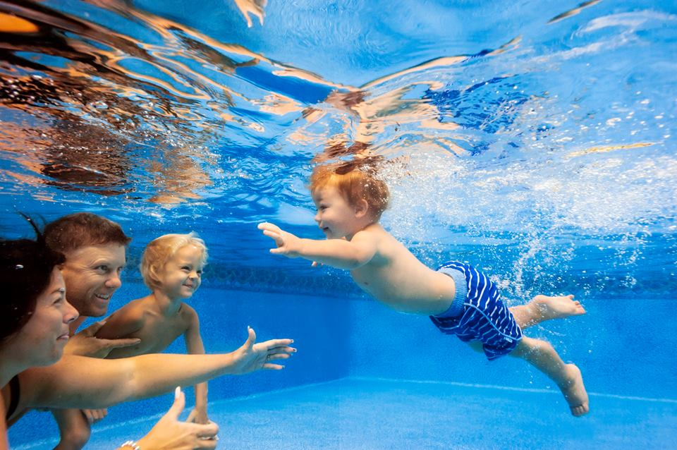 Under Water Family Photography