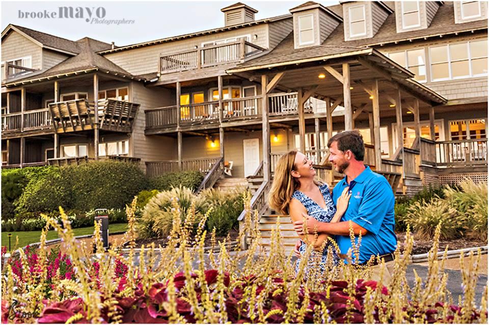 Engaged at the Sanderling Resort