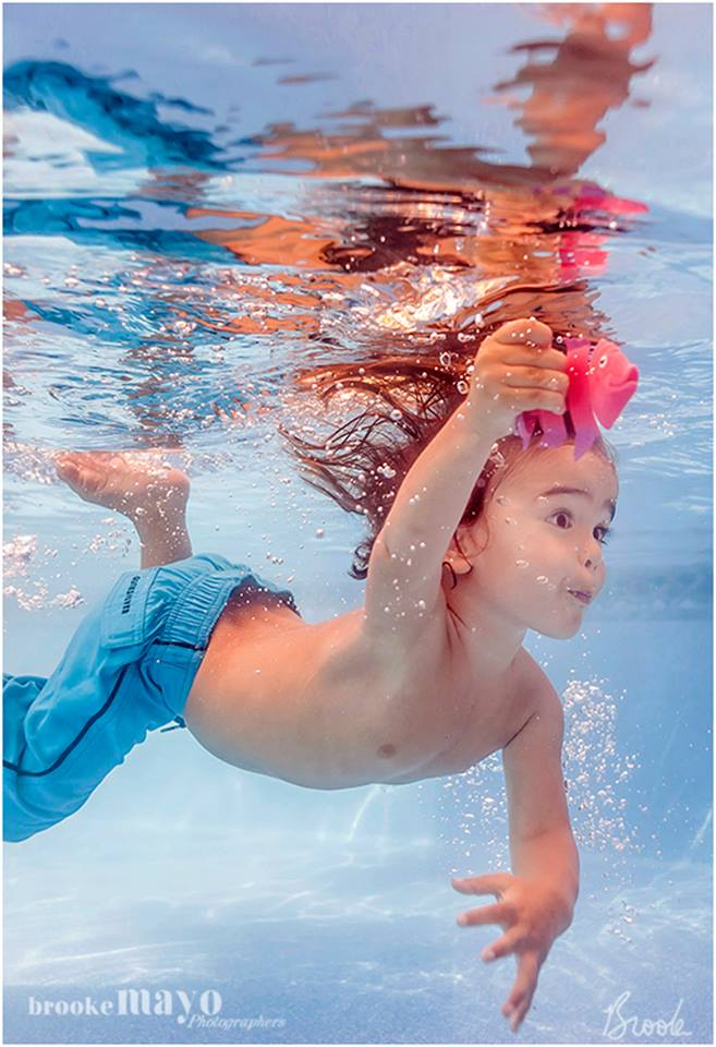 underwater kids