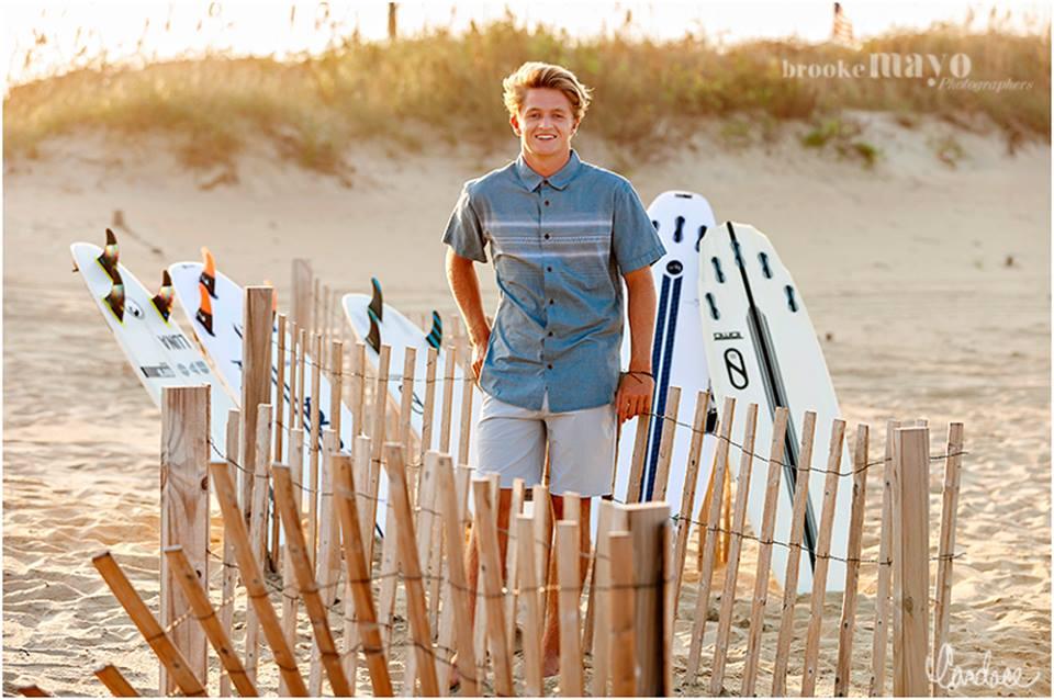 OBX surf senior pictures