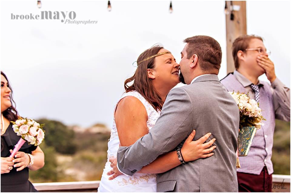 Carova Beach Wedding