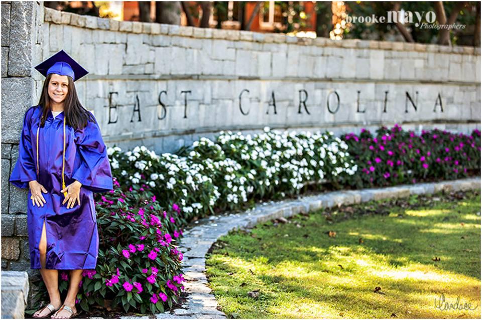 East Carolina Senior Portraits
