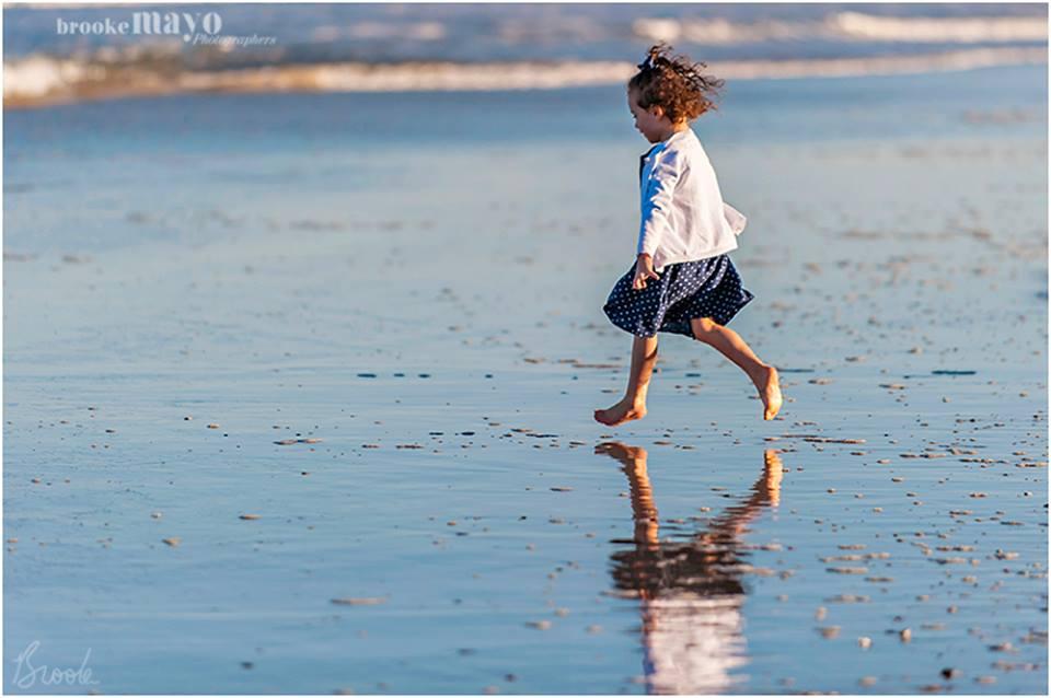 Fall Beach Portrait