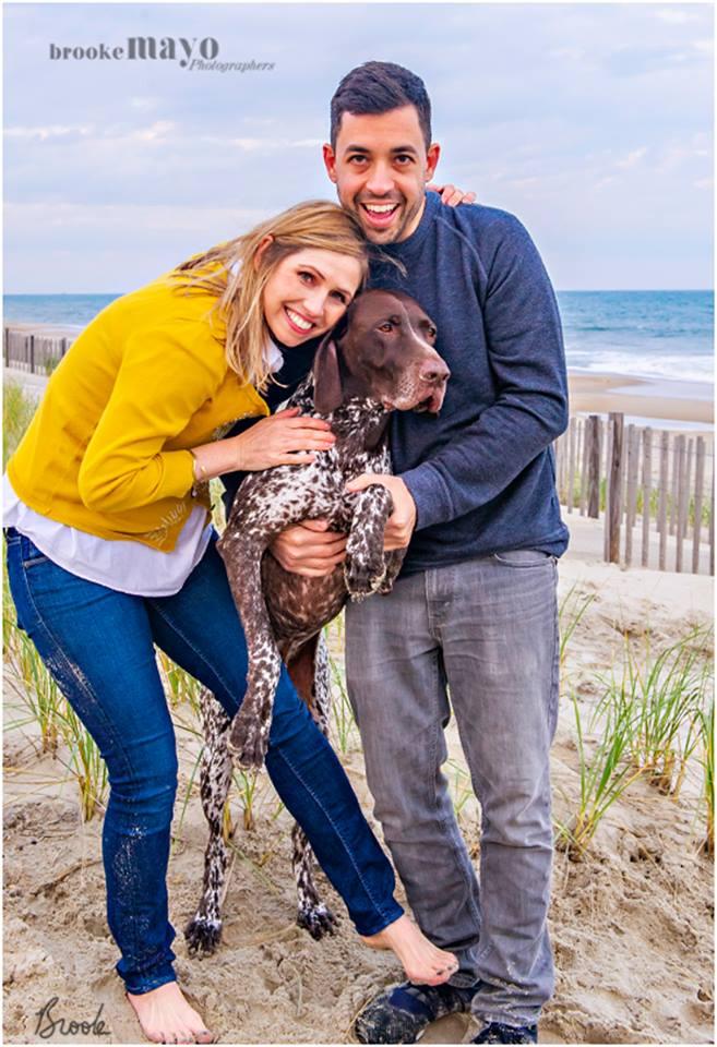 Beach Dog Portrait