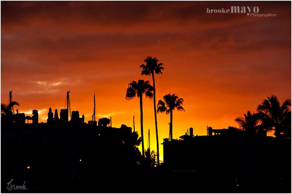 sunset mogan gran canaria