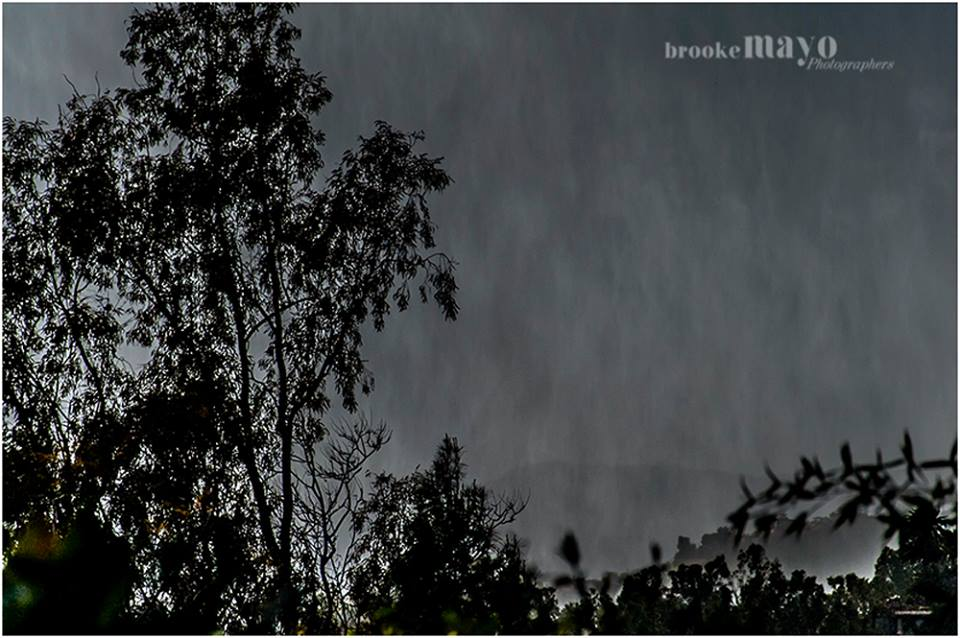 Italian rain storm