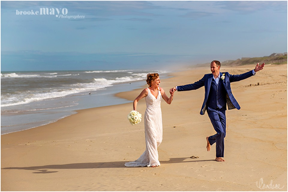 OBX beach wedding duck corolla