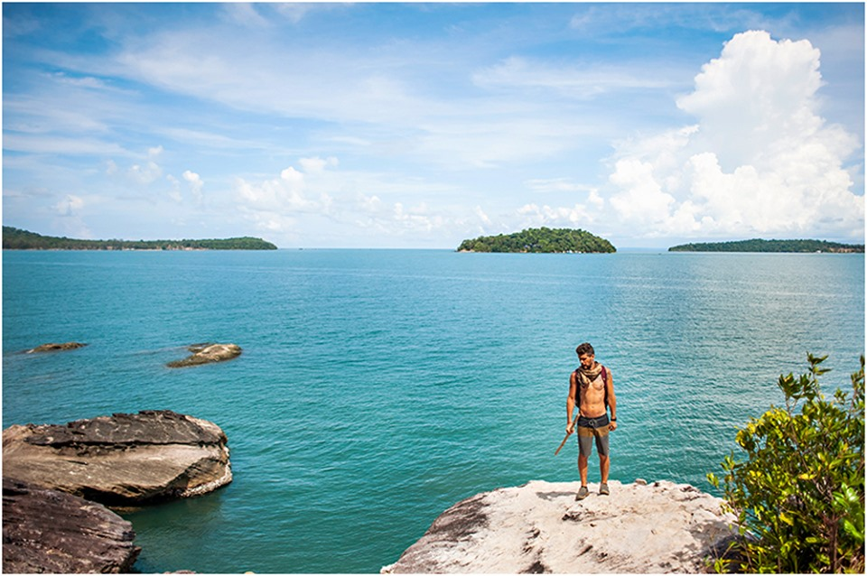 cambodian island hike koh ta kiev